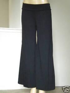 Black-Long-Palazzo-Gaucho-Yoga-Wide-Pants-Plus-1X-2X-3X