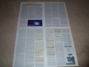 Threshold T-200 Amplifier Review,1995,4 pgs,Full Test