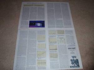 Threshold T-200 Amplifier Review,1995,4 pgs,Full Test