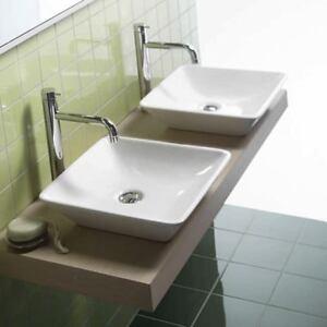 Lavabo lavandino appoggio da bagno happy hour 10 00 hatria - Lavandino appoggio bagno ...