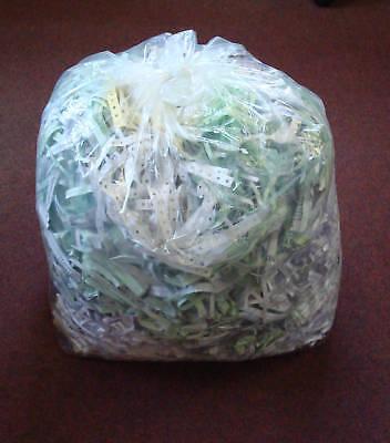 25 Clear Recycling Bags Heavy Duty Refuse Sacks 160g