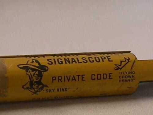Sky-King-Secret-Signalscope-Peanut-Butter-Premium