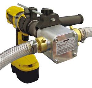 Perbunan Impeller Pumpe ZUWA UNISTAR 2001-A, 30L/min, Bohrmaschinen - Adapter