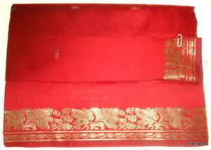 Indian Art Silk Sari Curtain Drape Panel Fabric 15 Colr