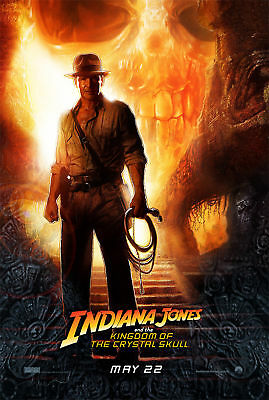 New Indiana Jones Movie Poster Harrison Ford 27X39 And The Kingdom Of The Crysta