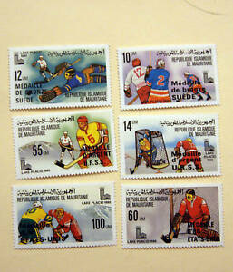 Olympic Sets from Mauritania SC 440-445 10 SETS