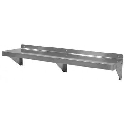 Wall Shelf 14x72 Stainless Steel - Nsf