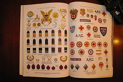 Patch Badge Button Insignia Guide ARC ATC USMS USPHS USCGS ACCP Civil Air Patrol