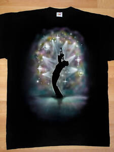 Airbrushed Trumpet Player T-Shirt in all kids sizes