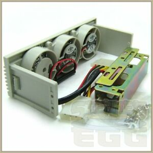 2-Fan-Hard-Drive-Bay-Cooler-HDD-SATA-IDE-5-25-RAID-SCSI