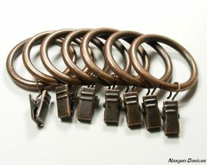 anello drapery clip rings antique bronze 14 pcs ebay
