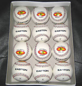 12-Easton-9-Soft-Training-Incrediball-Baseballs-Softouch-T-Ball-Little-League