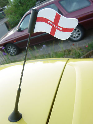 England Commonwealth Games car van truck antenna aerial flag topper Inc UK P&P