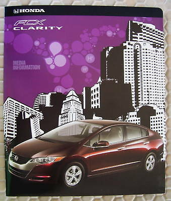 HONDA Certified FCX CLARITY CONCEPT LA PRESS KIT CD ROM 2007 USA EDITION