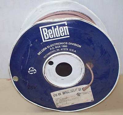 Belden 8795 606 2 Conductor Telephone Cable 22 Awg 850'