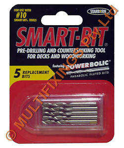 12g-Smart-Bit-Replacement-Drills-Pack-contains-5pcs