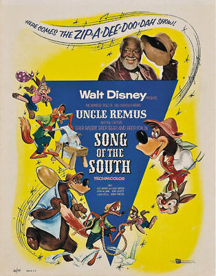 Song of the south Disney cult movie poster print #2 on Rummage
