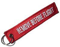 Schlüsselanhänger - REMOVE BEFORE FLIGHT
