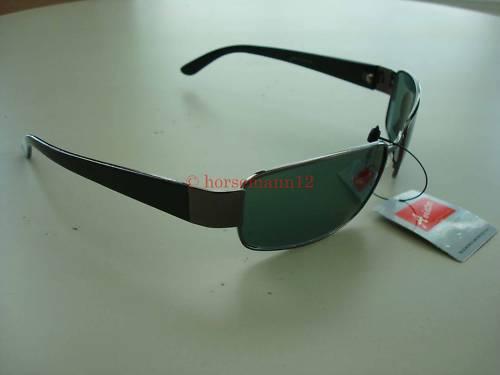Aviator Men Women Glass Lens-metal Frame Small Sunglasses Green Lens