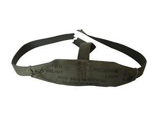 ORIGINAL-POST-WW2-US-ARMY-M1-HELMET-NAPE-STRAP-NECKBAND