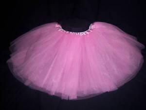 Pink-Tulle-Tutu-Princess-Skirt-Dress-up-or-Dance