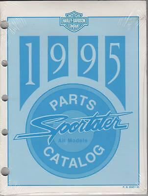 1995 Harley Davidson Motorcycle Sportster Parts Manual