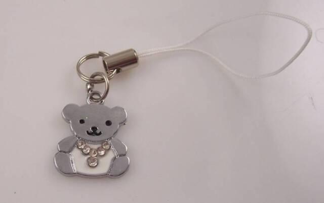 Teddy Bear cell phone charm or purse charms