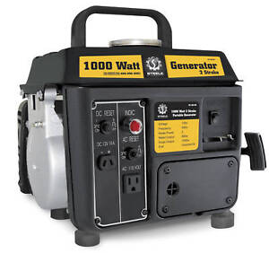 New Portavle 1000 Watt Gas Generator, 1.5HP, Small