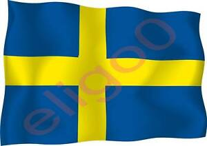 1x-SWEDEN-STICKER-WAVING-FLAG-BUMPER-decal