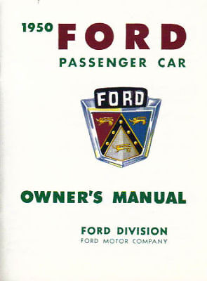 1950 Ford Passenger Car Owner's Manual
