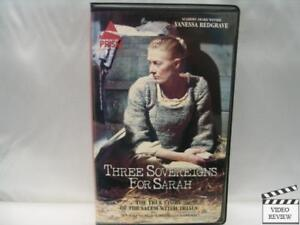 three sovereigns for sarah essay Rent three sovereigns for sarah (1985) and other movies & tv shows on blu-ray & dvd 1-month free trial fast, free delivery no late fees.