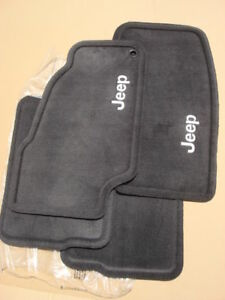 Jeep Liberty Dark Slate Carpet Floor Mats, OEM Mopar