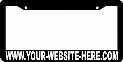 Custom Personalized Website License Plate Frame