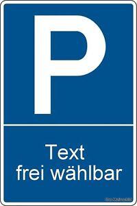 parkplatzschild 30 x 20 cm parkplatz hinweisschild. Black Bedroom Furniture Sets. Home Design Ideas
