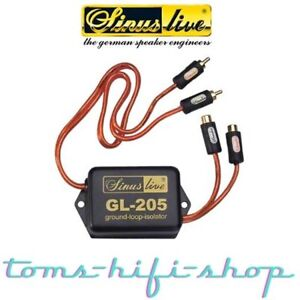 SinusLive Ground-Loop-Isolator Gl-205 MXM Entstörfilter