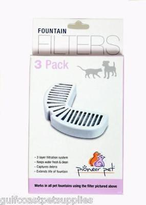 Pioneer Pet Raindrop Fountain Water Filters 18 Pack