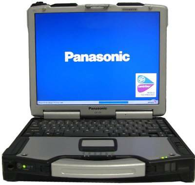 Panasonic Toughbook Touch Screen CF-29 Rugged 1.3ghz 60gb Cdrom Win Xp Pro USB