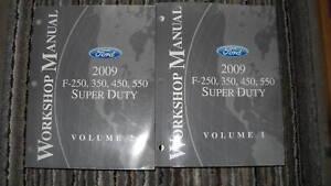 2009-Ford-Truck-Diesel-F-250-F-350-F450-550-Servicio-Tienda-Reparar-Manual-de-09