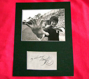 BRUCE-LEE-Signed-Autograph-Photo-Mounted-A4-PRINT-107
