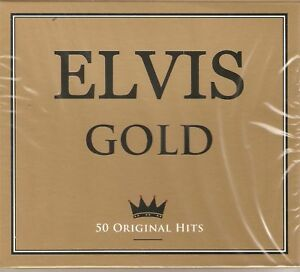 ELVIS GOLD 50 ORIGINAL HITS 2 CD BOX SET ELVIS PRESLEY