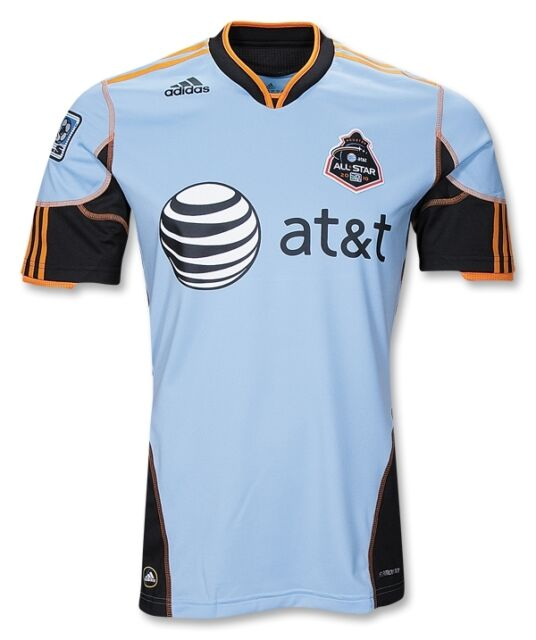 nwt~Adidas HOUSTON Dynamo MLS ALL STAR Soccer football shirt Jersey-Men Size ~