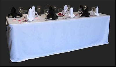 10 rectangular 90 x156 polyester tablecloths 12 colors for 10 ft table cloth