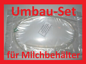 MILCHSCHLAUCH SET für Philips HD 5730 /10 Milchbehälter Milchtank Schlauch