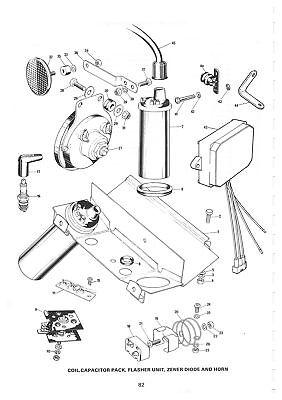 Triumph Parts Manual T140 TR7T TR65 1982 Replacement