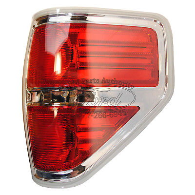 2012-2013 Ford F-150 Xlt Chrome Right Tail Lamp Lariat- Passenger's Side on Sale