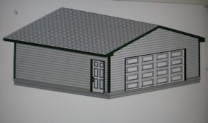 24 x 22 garage shop plans materials list blueprints for Material list for garage