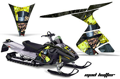 Amr Snowmobile Ski Doo Rt Sled Graphics Wrap Kit 05-09