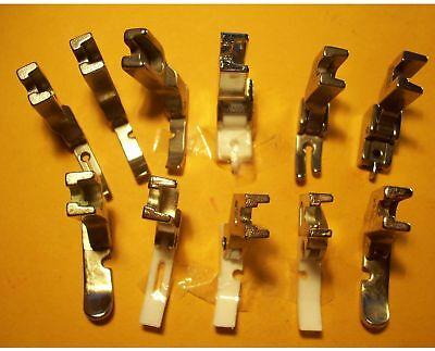 Juki Tl-98q /tl-98e Industrial 1-needle Sewing Machines Zipper 11 Foot Feet