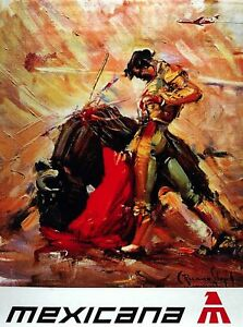Matador Vintage original spanish bullfighter poster dated 60s ...