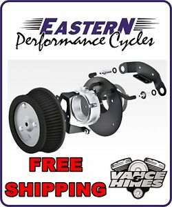 VANCE HINES VO2 AIR CLEANER NAKED STAGE ONE 4 HARLEY TOURING SOFTAIL DYNA